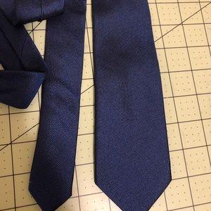 Ben Sherman Accessories - Ben Sherman designer solid blue tie